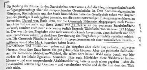 Auszug aus JOHNSEN, HARTMUT in: Der Startbahn-West Konflikt [1996], Seite 65